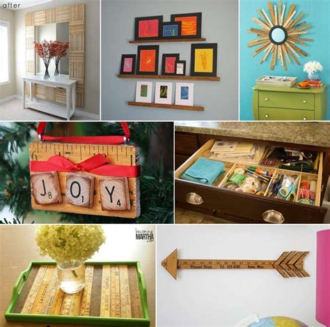 Repurposed Home Decorating Ideas by 50 Ideas To Repurpose Yardsticks For Home Decor