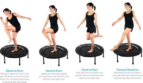 10 minute mini troline workout rebounding exercises workouts exercises troline