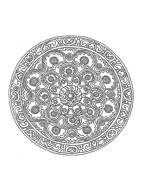 coloring pages hard mandala mandala to color difficult 22 difficult mandalas for