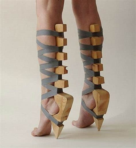 How To Make Uncomfortable Shoes Comfortable by The 18 Most Horrifying Pairs Of Shoes Made What Is