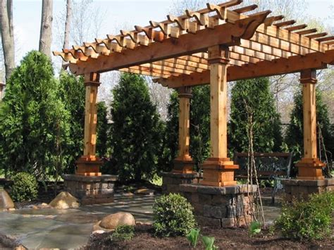 covered pergola plans wood specialist guide how to build wood awning