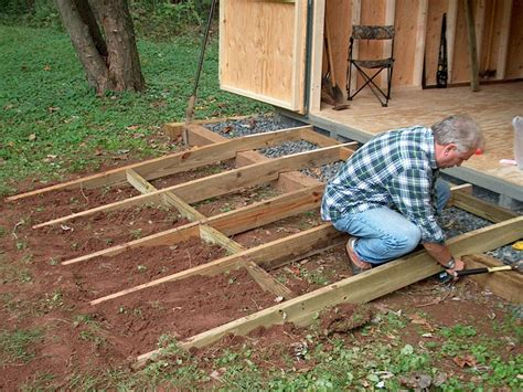 Shed Building Forum by How To Build A Simple Shed R Mybuilders Org