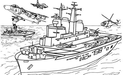 army base coloring pages coloriage bateau les beaux dessins de transport 224