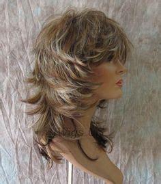 how to blend your choppy hair medium wig jet black sexy wavy choppy multi layers bangs