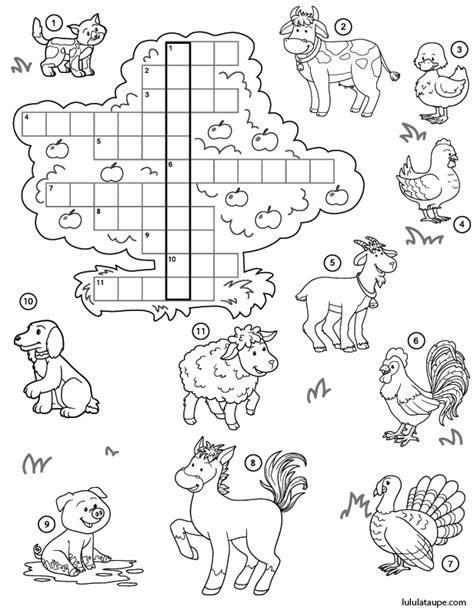 Le mot mystère, exercice d'anglais - Lulu la taupe, jeux