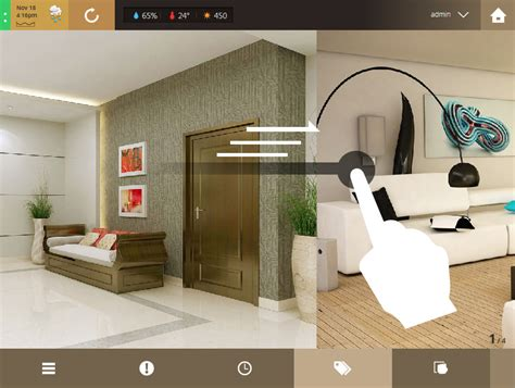 zones access rights smart home automation