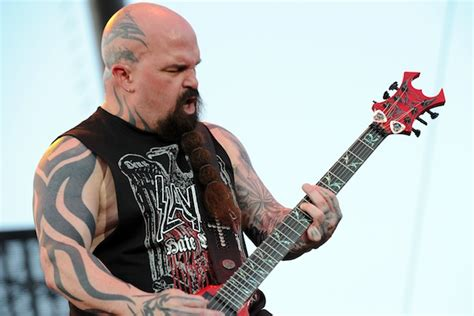 slayer s kerry king gary holt will not write for next album