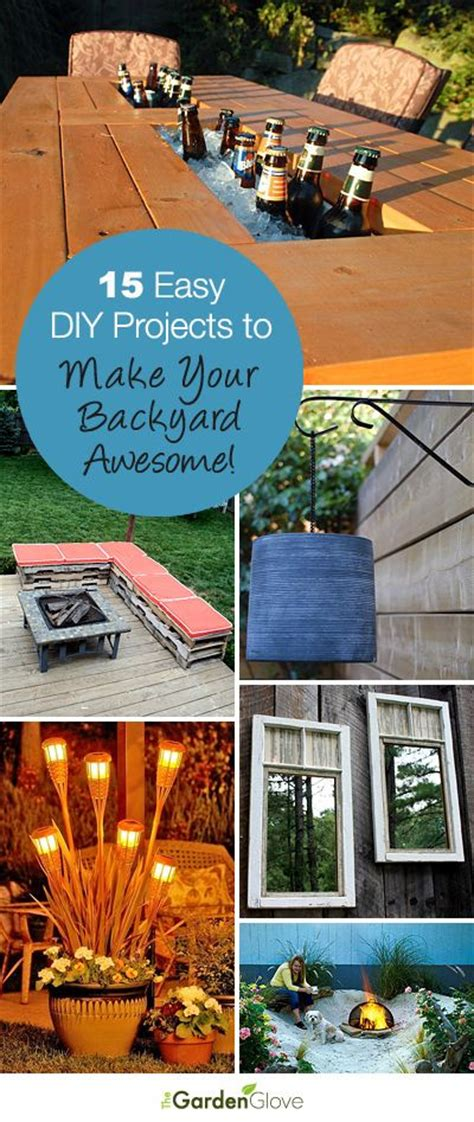 Make Your Backyard Awesome by 15 Easy Diy Projects To Make Your Backyard Awesome A