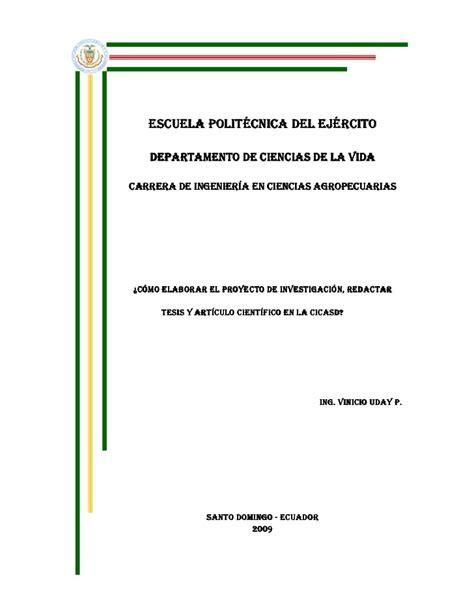 Modelo Curriculum Upn Formato Proyecto De Tesis Cicasd