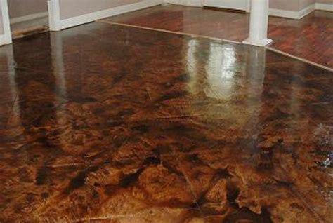 Acid Wash Concrete Floors handypro handyman services stained acid edged concrete