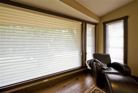 modern window coverings for large windows blinds for large windows living room contemporary with
