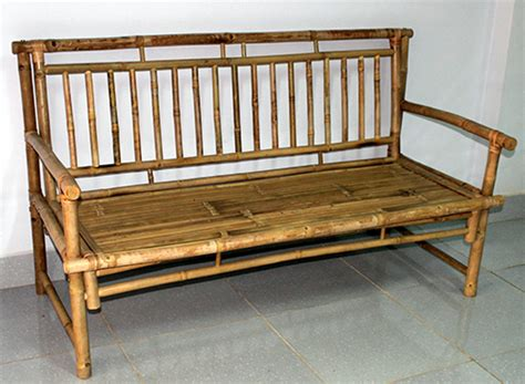 bamboo garden bench bamboo bench