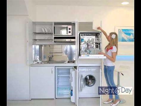 Lavatrice In Cucina Ikea by Cucina Compact 186 Con Ante A Libro Completa Di