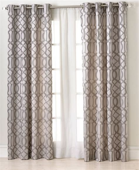 macys curtains elrene window treatments latique collection fashion