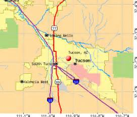 tucson arizona az profile population maps real