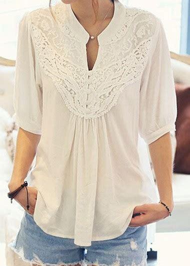sleeve turndown collar button closure denim shirt