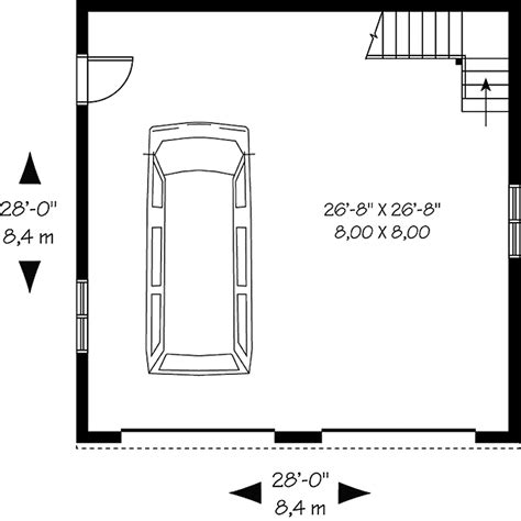 double car garage size floor plans aflfpw74062 2 story home with and 446 total