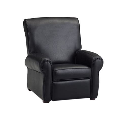 childs leather recliner dozydotes big kids recliner black leather like dzd11949 ebay