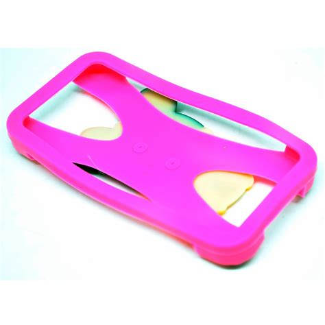 Ring Silikon Bumper Silikon Ring minnie mouse bumper ring silicone for smartphone 4 5 5 inch pink jakartanotebook