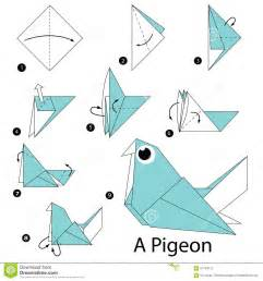 Parrot Vase Step By Step Instructions How To Make Origami A Pigeon