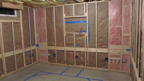 shack construction part 3 4 insulation drywall and