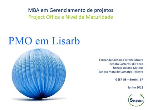 Mba 641 Project 5 by Saopaulo Gep88 Pmo Singular