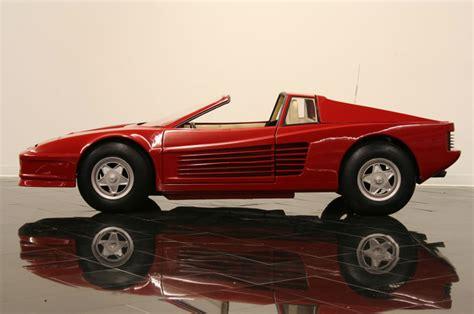Go Kart Ferrari by Ferrari Testarossa Replica Go Kart Richtigteuer De