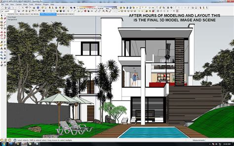 google sketchup vray rendering tutorial vray tutorial exterior night scene
