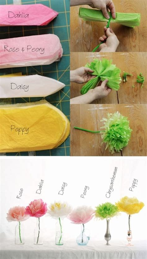 diy and crafts blogs diy tissue paper flowers and many other crafts on this diy craft s