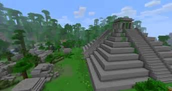 Mayans ruins minecraft building inc