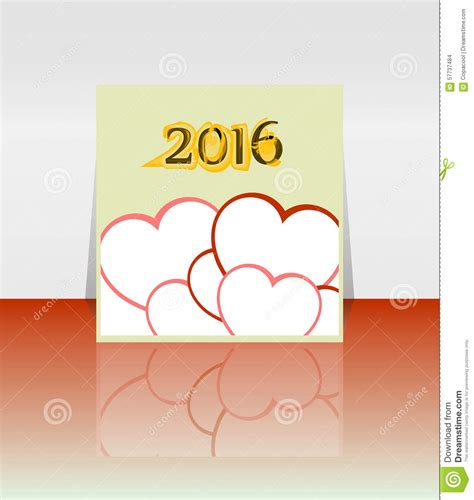 new year template 2016 happy new year 2016 word on blank note book with