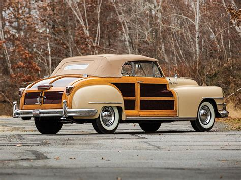 1947 Chrysler Town And Country by Chrysler Town And Country Convertible 1947