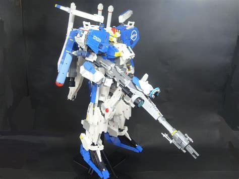 Mainan Lego Gundam 1 masterpiece lego 1 40 ex s gundam created by jan utyo