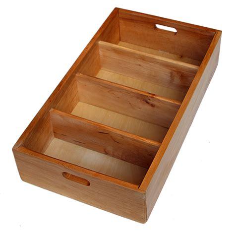 cassetto legno portaposate legno per cassetti portaposate per cucine di