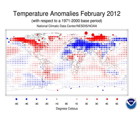 february 2012 free printable maps global climate report february 2012 state of the