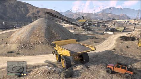 mega dump truck mega dump truck location gta v