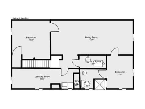 basement floor plans basement floor plan flip flop stairs and furnace room basement remodels stairs