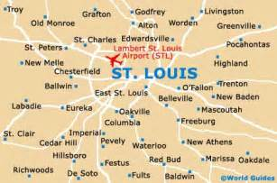 missouri map airports map of lambert st louis airport stl orientation and maps for stl st louis airport