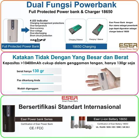 Console Powerbank Battery 18650 Charger T0210 4 jual powerbank eser eagle8 12400mah charger battery