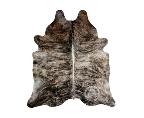 Cowhide Leather Rug by New Cowhide Rug Leather Brindle 6 X8 Cow