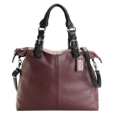 Burch Tote Vs Steve Madden Bag by Steven By Steve Madden Handbag Tote In Purple Aubergine