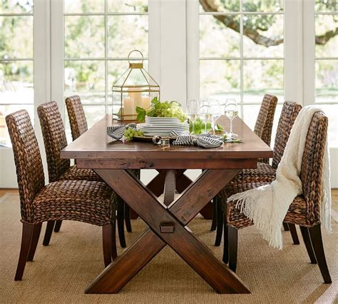 pottery barn dining table pottery barn pinterest dining room toscana extending dining table pottery