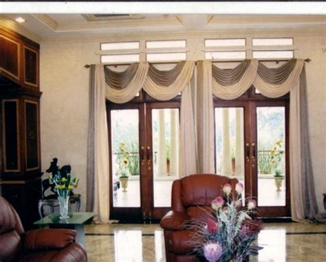 nice curtains for the living room glass doors Interior