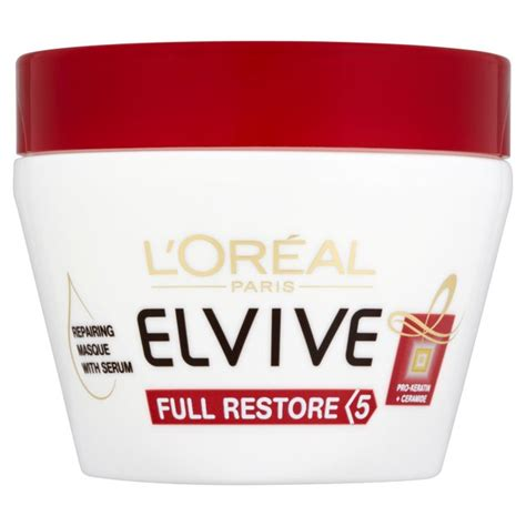 Shoo Loreal Total Repair l oreal elvive total repair masque pot 300ml from ocado