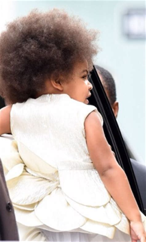blue ivy new hairdo blue ivy is sporting another new hairstyle this time a