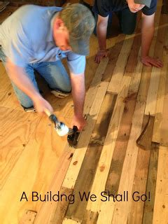 diy pallet floor: a thrifty repurposed pallets to a