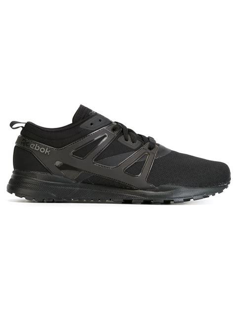 reebok black sneakers lyst reebok ventilator sneakers in black for