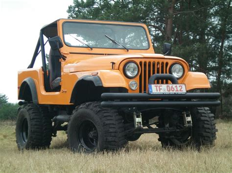 Jeep Cj7 Lackieren by Jeep Cj7 Mit 5 9 L V8 Motor Allradscheune