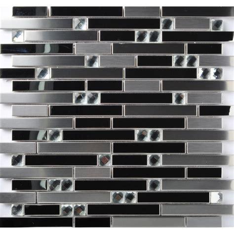 mosaic stainless steel backsplash tst stainless steel mosaic tile silver mirrored tiles