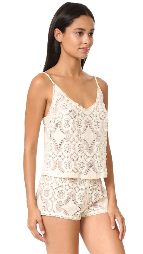 Lace Cami lyst only hearts mosaic lace cami